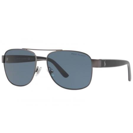 Óculos Solar Polo Ralph Lauren Ph3122 915781 59 Grafite Lente Cinza Polarizada