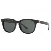 Óculos Solar Polo Ralph Lauren Ph4150 500171 54 Preto Brilho Lente Verde G15