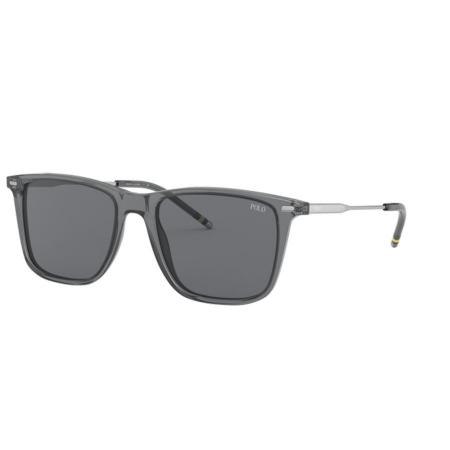 Óculos Solar Polo Ralph Lauren Ph4163 532087 54 Cinza Translucido Lente Cinza