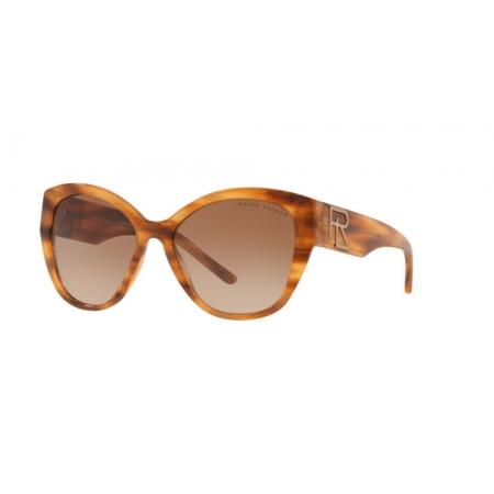 Óculos Solar Ralph Lauren Rl8168 570313 55 Marrom Havana Lente Marrom Degradê