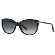 Óculos Solar Ralph Ra5160 501/11 57 Preto Brilho Lente Cinza Degradê