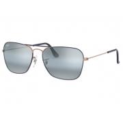 Óculos Solar Ray Ban Caravan rb3136 9156aj 55 Azul