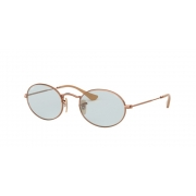 Oculos Solar Ray ban Oval RB3547N 91310Y 54 Bronze Lente Azul Fotocromatica