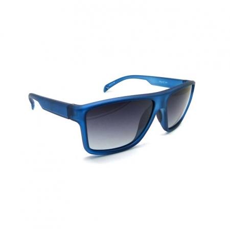 Óculos Solar Speedo Floating Flux 2 D01 Azul Translúcido  Lente Polarizada Cinza