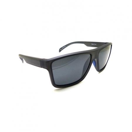Óculos Solar Speedo Floating Flux 2 H01 Preto Fosco  Lente Polarizada Cinza