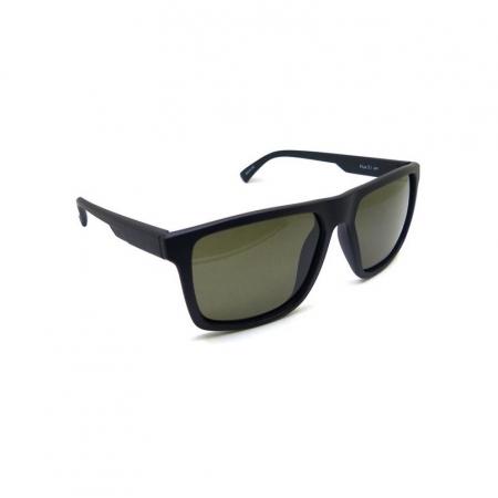 Óculos Solar Speedo Floating Flux 3 A01 Preto Fosco  Lente Polarizada Verde