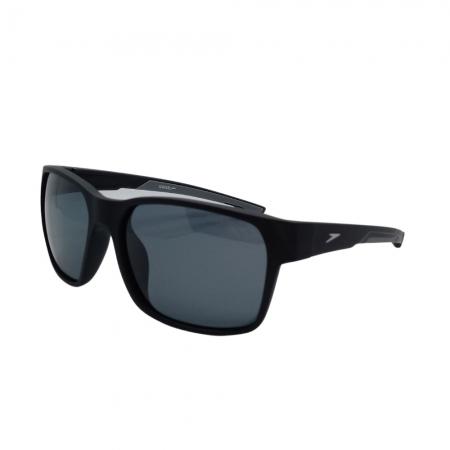 Óculos Solar Speedo Freeride 5 A01 Preto Fosco  Lente Polarizada Cinza