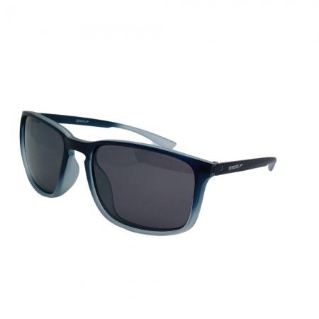Óculos Solar Speedo Freeride  6 D02 Preto Fosco Degradê Lente Polarizada Cinza