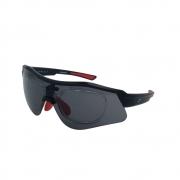 Óculos Solar Speedo Pro 4 A01 Preto Fosco  Lente  Cinza
