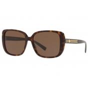 Óculos Solar Versace Ve4357 108/73 56 Marrom Havana Lente Marrom