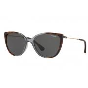Óculos Solar Vogue Vo5250sl 27548755 Marrom Lente Cinza