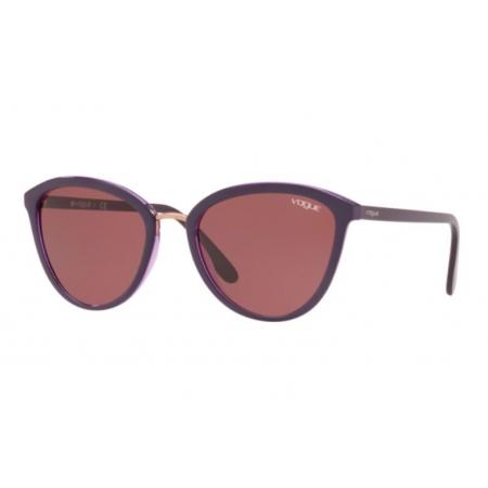 Óculos Solar Vogue Vo5270s 240975 57 Violeta Lente Violeta