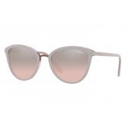 Óculos Solar Vogue Vo5270s 27587e 57 Cinza Lente Rosa Degrade Espelhada