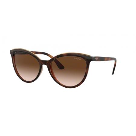 Óculos Solar Vogue Vo5298sl 238613 58 Marrom Havana Lente Marrom Degrade