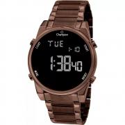 Relógio Champion Ch40071r Feminino Digital Marrom