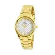 Relógio Champion Feminino Cn25583h Metal Dourado