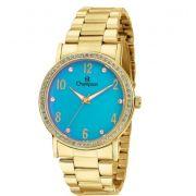 3ed58c8ba18 Relógio Champion Feminino C  Strass Ch38431h - Garantia - Loja ...