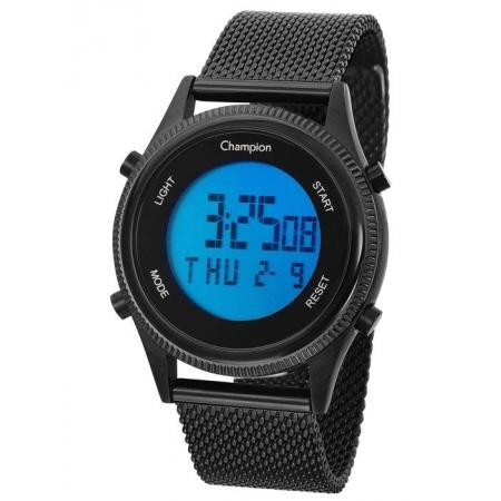 Relógio Champion Feminino Digital Ch48082d Preto