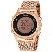Relógio Champion Feminino Digital Ch48082z Rosê