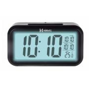 Relógio Despertador Digital Herweg 2971 034 Termometro Luz Noturna