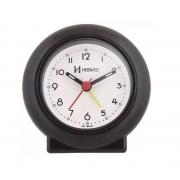 Relógio Despertador Herweg 2611 034 Preto Fluorescente