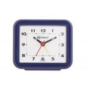 Relógio Despertador Herweg 2612 011 Azul Escuro Fluorescente