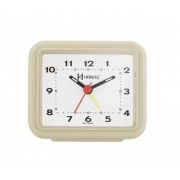 Relógio Despertador Herweg 2612 032 Marfim Fluorescente