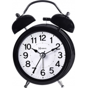 Relógio Despertador Herweg 2707 034 Quartz Preto