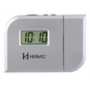 Relógio Despertador Projetor Herweg 8009 070