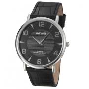 Relógio Magnum MA21893T Super Fino Pulseira Couro