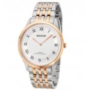 Relógio Magnum Ma21919m Prata Rosê Super Fino