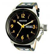Relógio Magnum MA32774J Calendario Pulseira Couro
