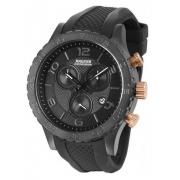 Relógio Magnum MA33504P Calendario Cronografo Pulseira Silicone