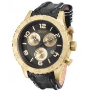 Relógio Magnum Ma33504u Calendário Cronografo Pulseira Couro