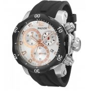 Relógio Magnum MA33755S Calendario Cronografo Pulseira Silicone