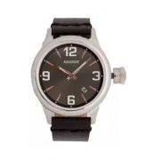 Relógio Magnum Ma34165v Calendário Pulseira Couro