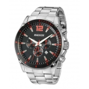 Relógio Magnum MA34423V Calendario Cronografo Pulseira Metal