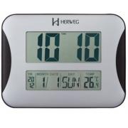 Relógio Parede Digital Herweg 6431 028 Termômetro