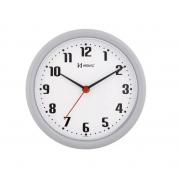 Relógio Parede Herweg 6102 024 Cinza 22cm Quartz