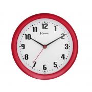 Relógio Parede Herweg 6102 269 Vermelho 22cm Quartz