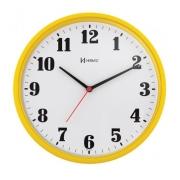 Relógio Parede Herweg 6126 268 Analogico 26cm Amarelo