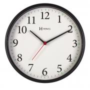 Relógio Parede Herweg 6126s 034 Preto  Silencioso Sem Tic Tac