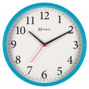 Relógio Parede Herweg  6126s 267 Azul  Silencioso Sem Tic Tac