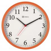 Relógio Parede Herweg 6126s 270 Laranja  Silencioso Sem Tic Tac