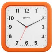 Relógio Parede Herweg 6145 270 Quadrado Laranja