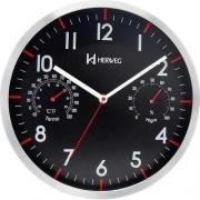 Relógio Parede Herweg 6397 034 Digital Termometro Higrometro
