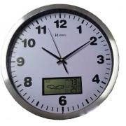 Relógio Parede Herweg 6413 Digital Termometro Higrometro