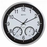 Relógio Parede Herweg 6416 021 Branco Termometro Higrometro