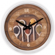 Relógio Parede Herweg 660006 242 Cozinha Branco 37cm