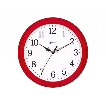 Relógio Parede Herweg 660078 269 Vermelho Redondo 37cm